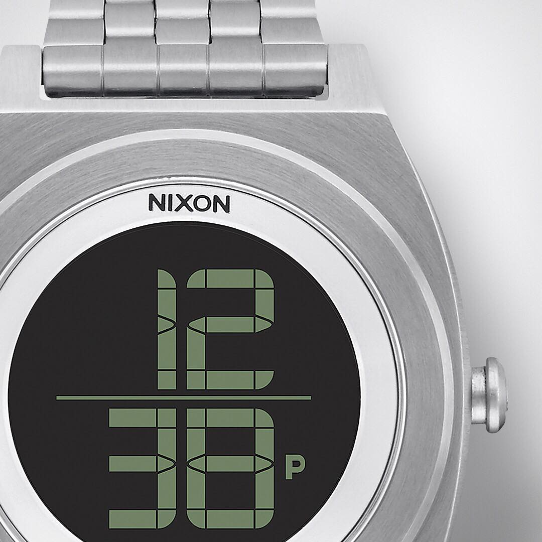 Classic, contemporary design and bold digital function. Good on their own. Great with each other. The #TimeTeller Digi. Available now at Nixon.com.