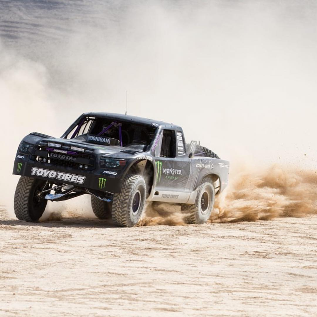 Test days are always the best days. @bjbaldwin and the team dialing in the #TrophyTundra.