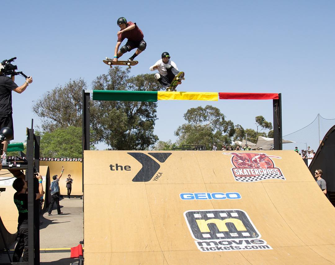 Our World of ❌ Games @SkaterCrossEvents Recap Show will air Sat., July 23 on ABC! (