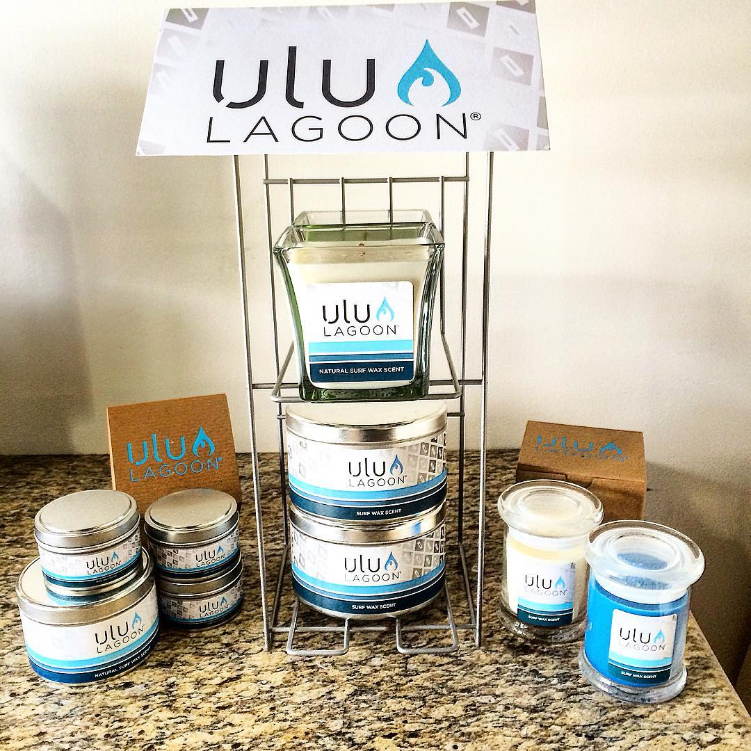 The original surf wax formula, from the people that created the original surf wax candle that forever changed the way people think of a candle company. Surf wax candles..evolved. This is ulu LAGOON!