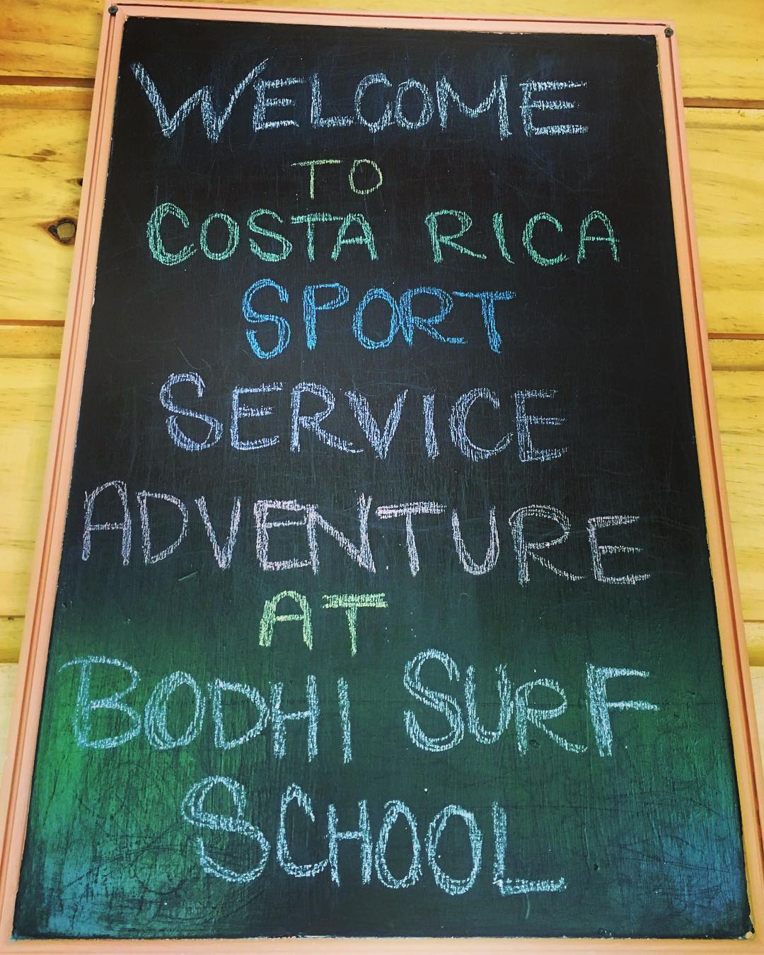 Currently happening @ Bodhi Surf School!
