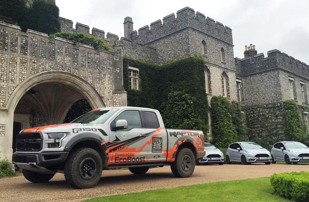 I had the pleasure of being driven around in English countryside in this new and abused 2017 Ford Raptor yesterday. Mr. Ben Collins hooned this all the way up the hillclimb road (and a good bit of the grass adjacent to it) this past weekend at...