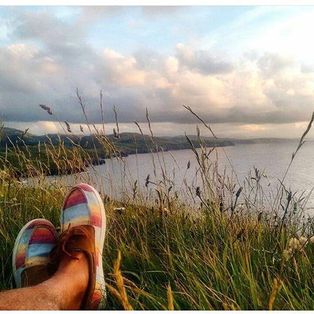 @dany_locosxelsurf  desde #Cantabria con sus #docksider #perkyshoesar #perkyporahi #playadeloslocossuances
