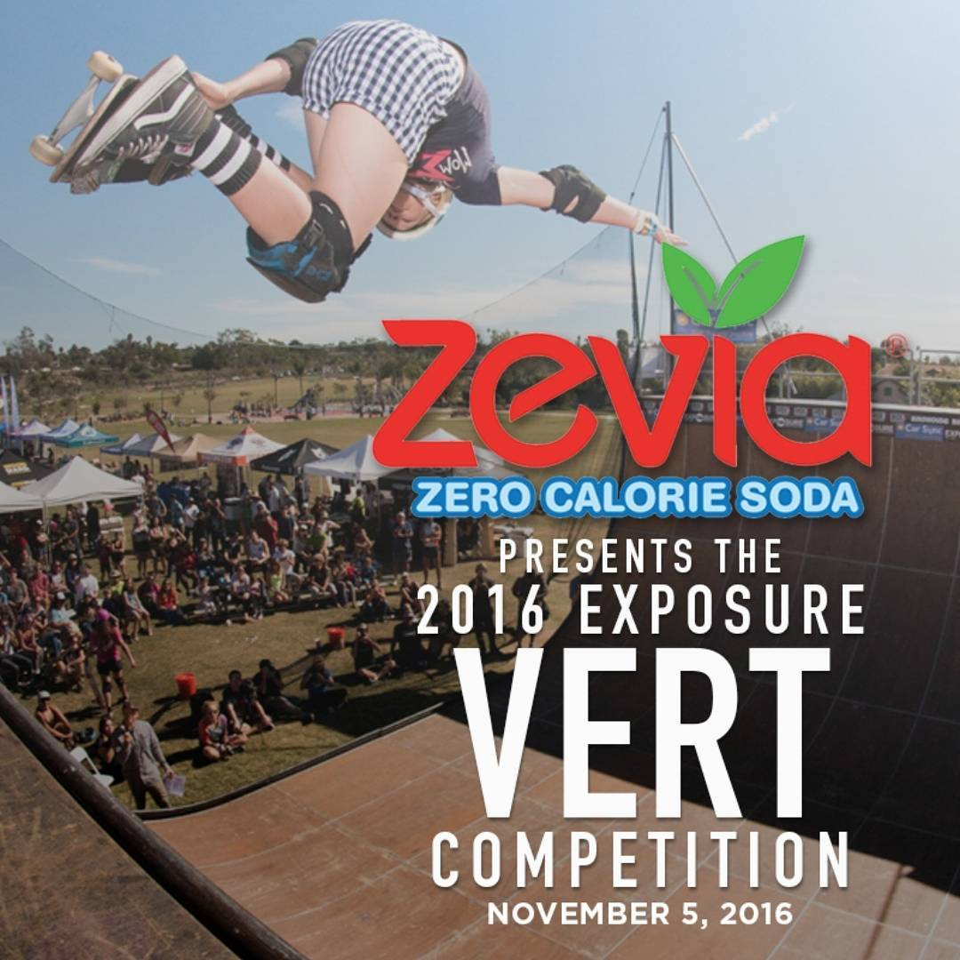 Check out @zevia ! They have amazing flavors of soda that you can feel good about drinking! Their zero calorie sodas are sweetened with natural stevia leaf. We are excited to have them at EXPOSURE!! Thank You @zevia !!!