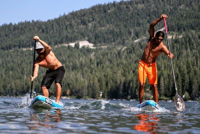 Mondays aren't so bad when it's summer.  #sup #playhardpaddleharder #FreeFromAll