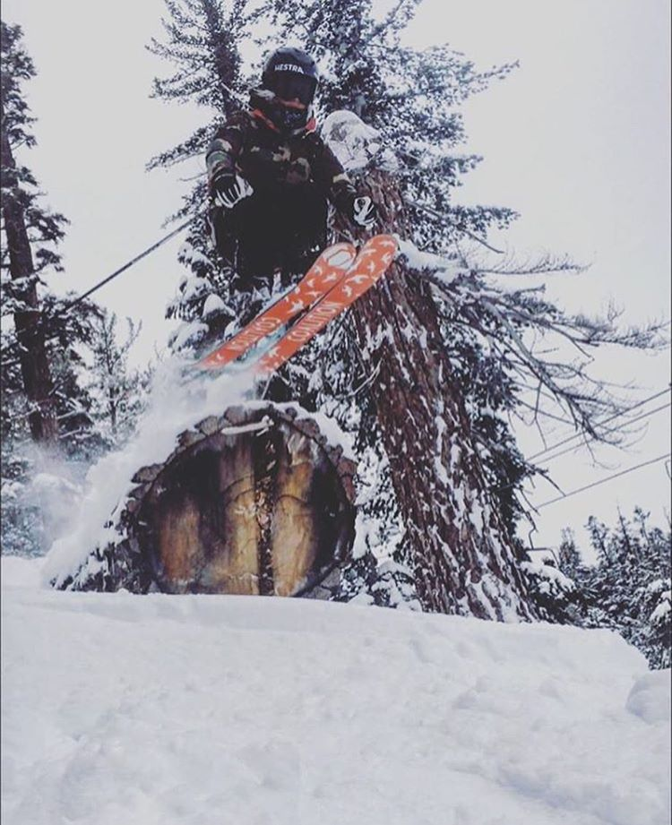 @fergiefuknferg catching some air last winter!