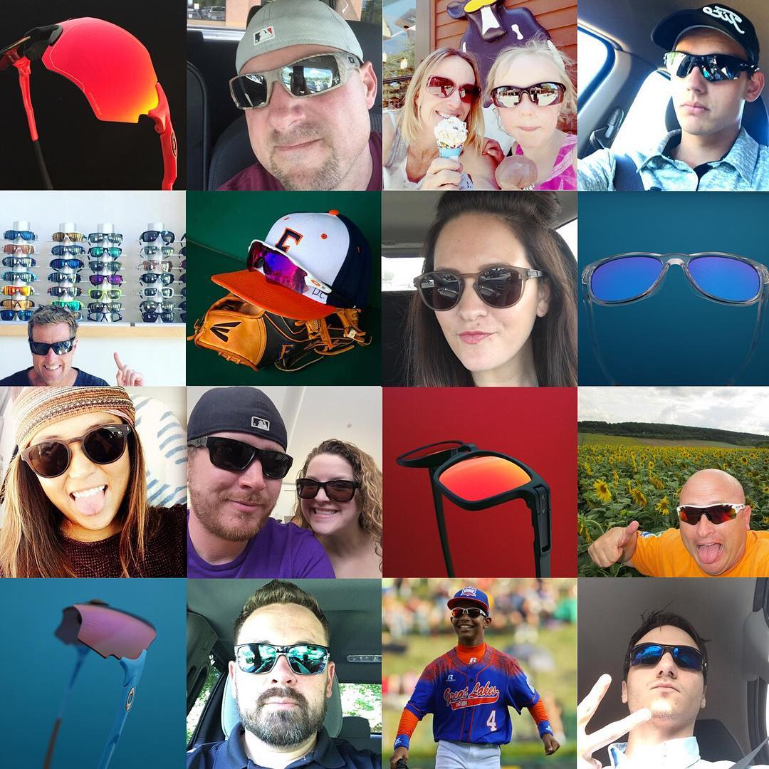 We're thinking next year should be called National Oakley Day. Which sunglasses did you wear today?  Thanks to all who tagged us in your photos. #nationalsunglassesday