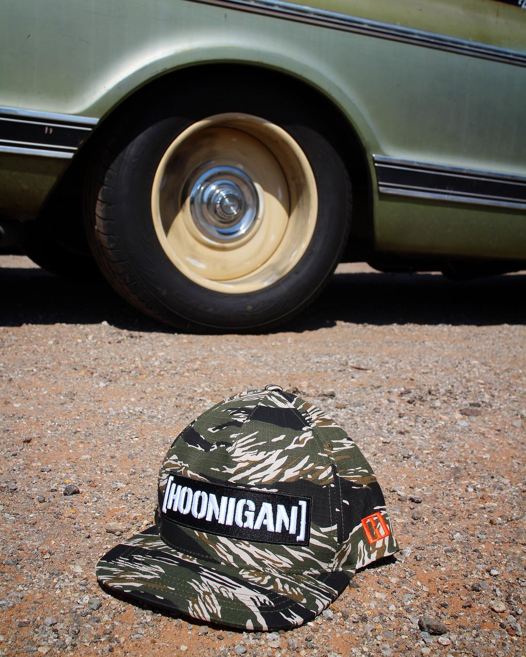 We stacked up on some new snap backs, like this Tiger Camo C-bar. Hit the link in the bio to check em out. #hooniganDOTcom