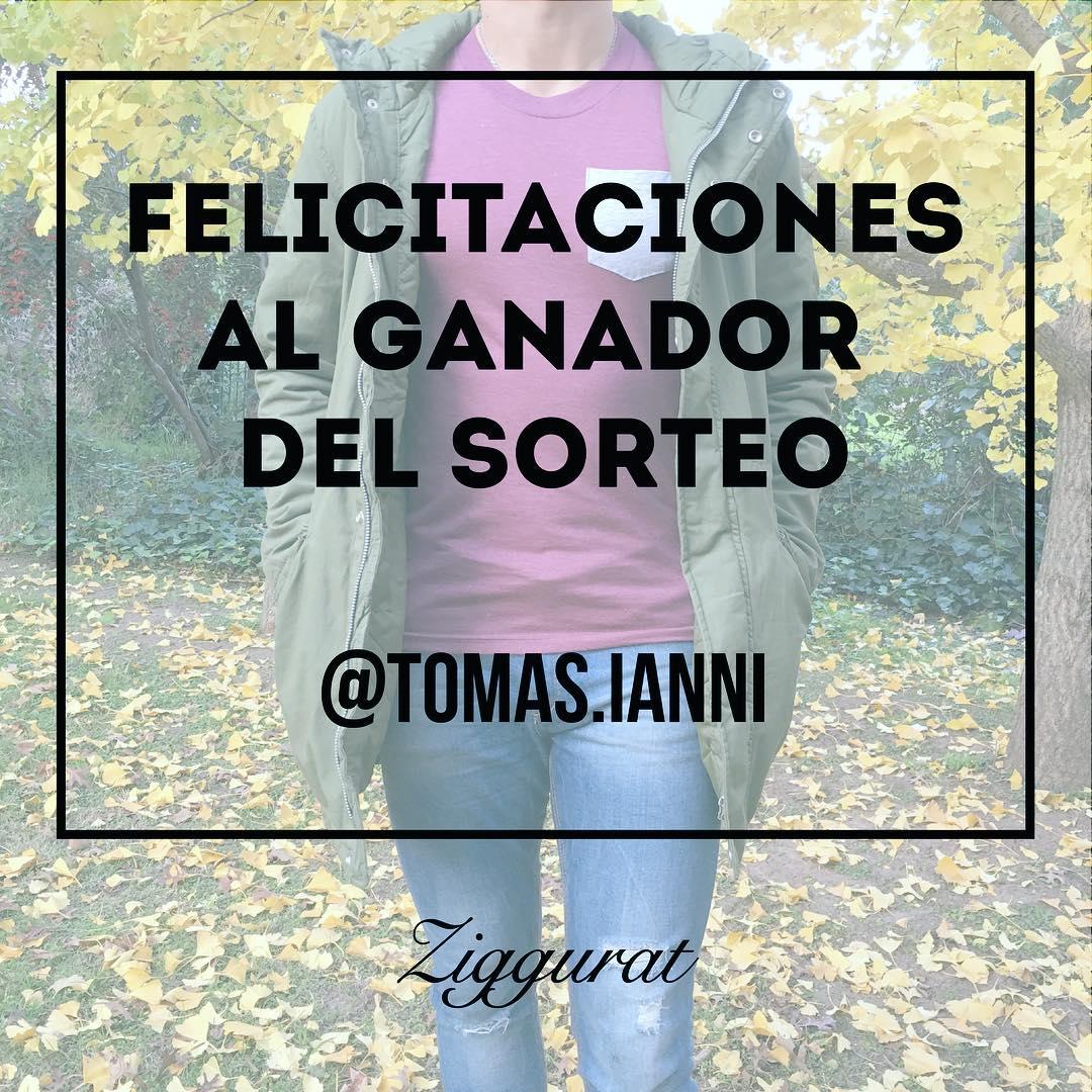 Felicitaciones al ganador del #SORTEO @tomas.ianni  Nos vamos a estar comunicando con vos ! Muy pronto nuevos sorteos