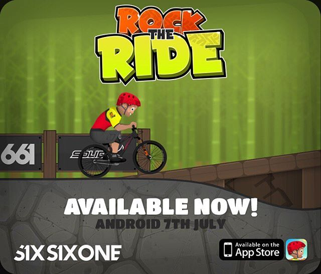 "SixSixOne are stoked to support the ""Rock to Ride"" Crew with their great new mobile dirt jump game, not only will this game get your pumped on new terrain with tricks and flips, but you can also win some sweet 661 Protection items simply by playing –..."