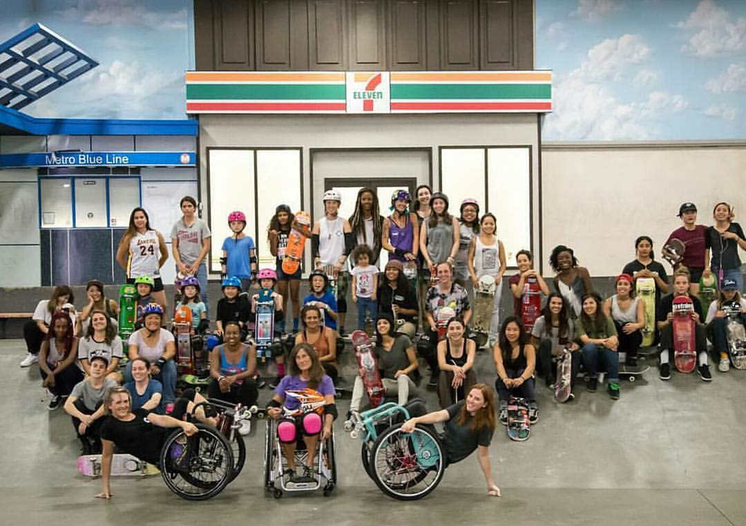 Thank you to all the awesome ladies who came out to shred Sunday morning!