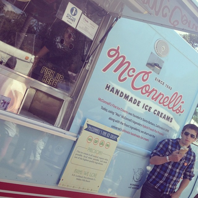 1 Percent member from #santabarbara, McConnell's Fine Ice Creams. Delicious! @mcconnellsicecreams @loatree #sbearthday #loaliving