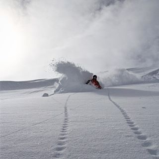 You know that feeling. DPS' Olof Larsson drops in for endless vertical in Valle Nevado, Chile.