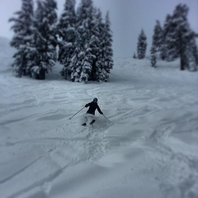 Woot! Woot! #powday #amazing #april #skiing #Squaw #Tahoe #sisterhoodofshred