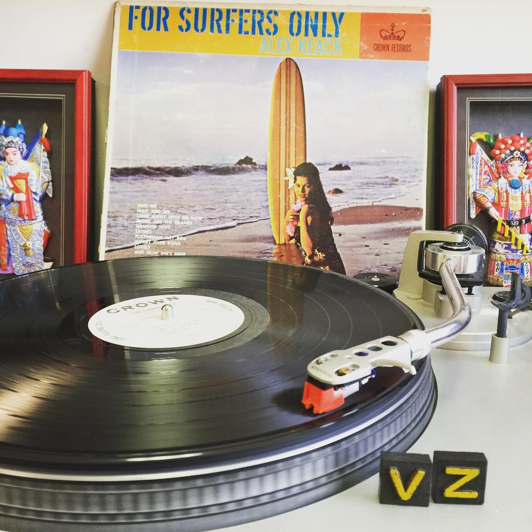 For Surfers Only! A set of groovy lounge jams perfect for those sun soaked summer days...and apparently not for kooks. #TurntableTuesday - #VonZipper #SupportWildLife