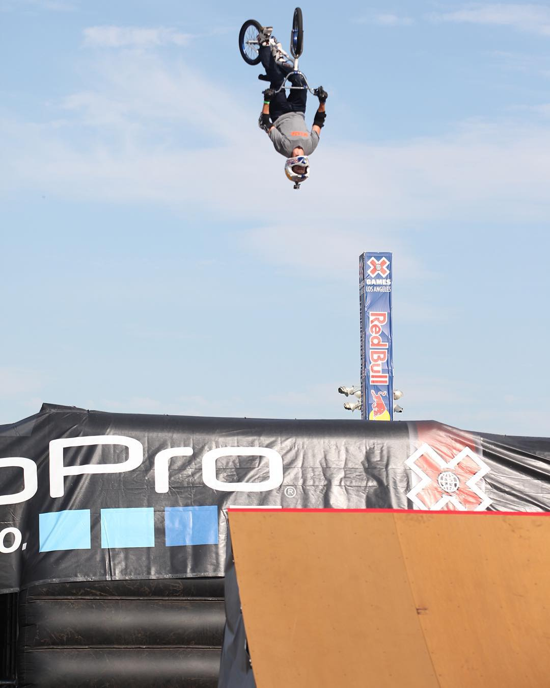 44-year-old @KRobBMX will come out of retirement to attempt a world record BMX backflip Aug. 13 at Kennedy Plaza in Providence, R.I.  The event will air live on ESPN2 at 11:30 pm ET!