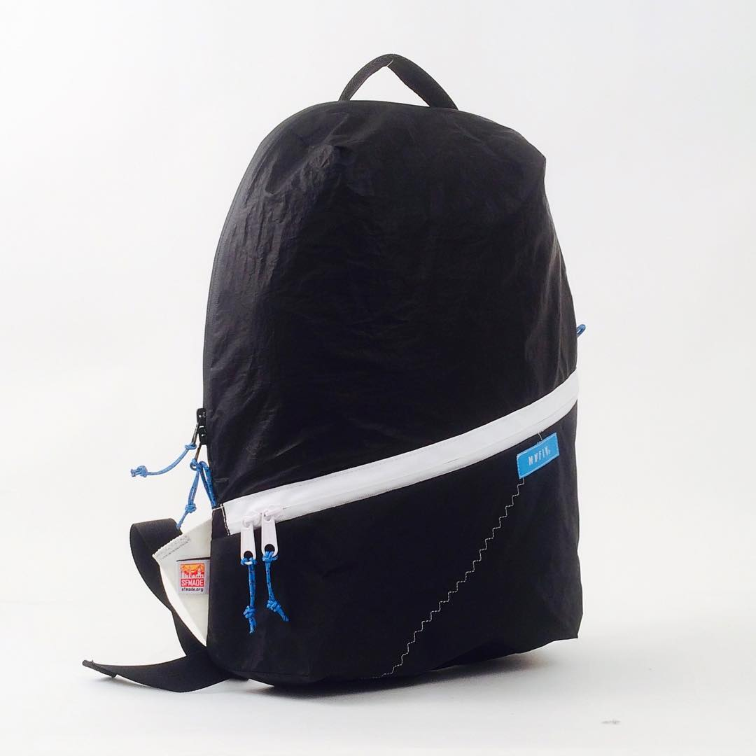 Digging this rare black-on-black sail pack // up now at mafiabags.com