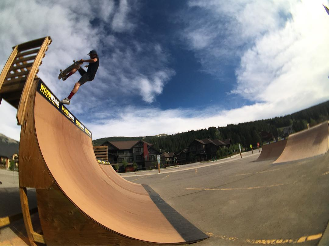 @mitch_stfg has sure been enjoying his day 2 of the @woodwardcopper SG takeover session