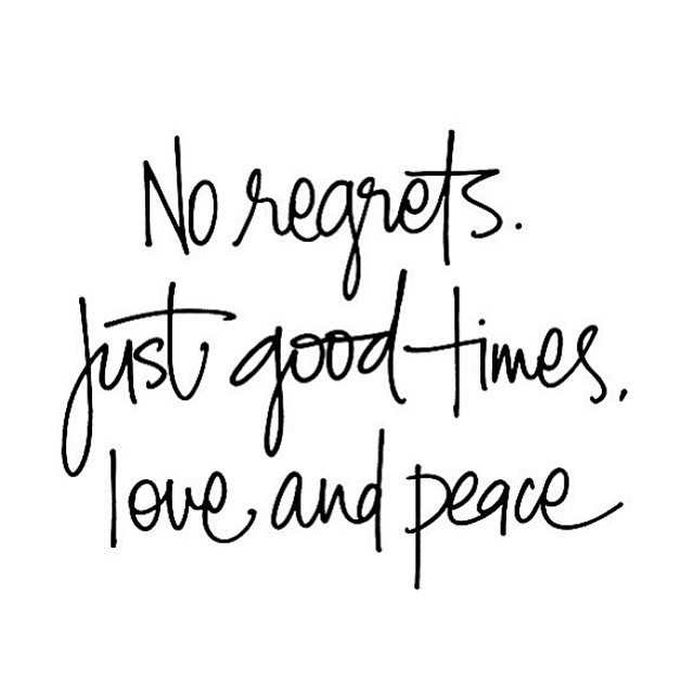 #Wisewords #Amen #noregrets #goodtimes #love #peace bikinis #travel #adventure