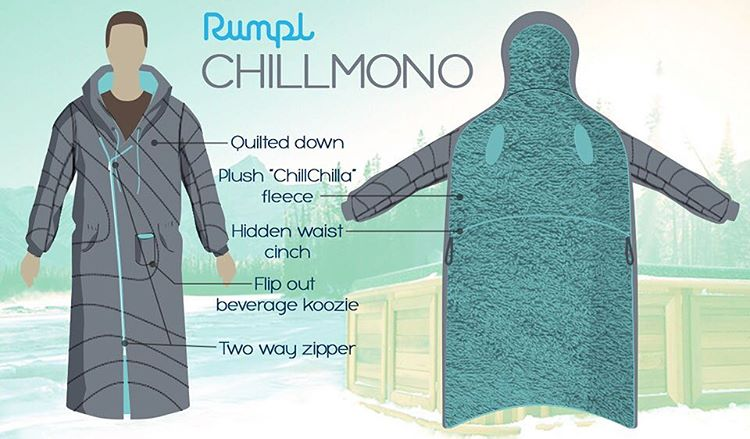 We partnered with @betabrand_hq to create the greatest invention of all time. The Chillmono is part insulated fuzzy robe and part puffy jacket. Click the link in bio and vote now to make the Chillmono a reality!! #gorumpl