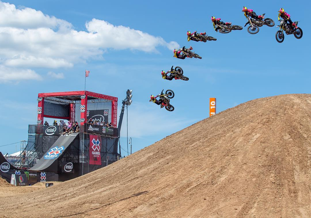 #WhipItWednesday || @VGolden423 throwing down with big boys at @XGames #Austin