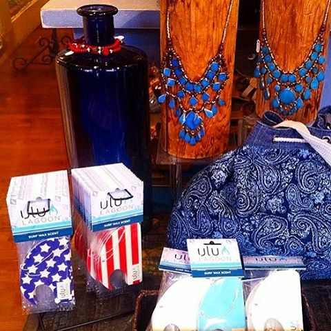 Repost from our friends at Brown Eyed Girl in Annapolis , MD. The Stars and Stripes Mini Wave air fresheners are spreading across America fast, so get yours while they last! Featured in original coconut surf wax scent, these will be sure to add a touch...