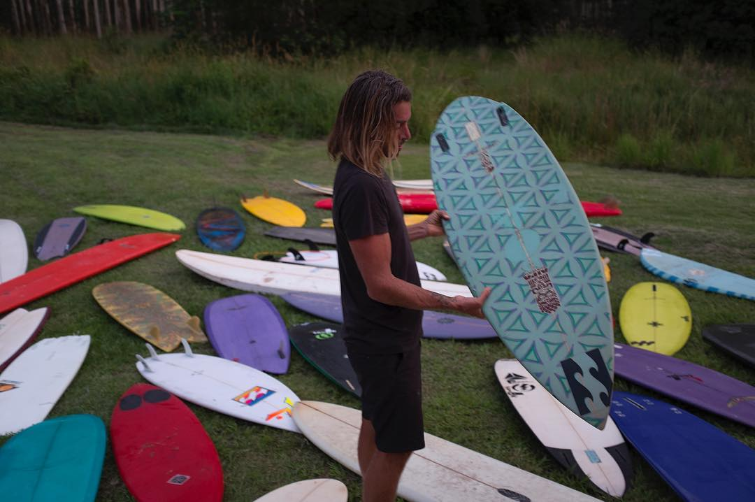 Watch 'Board Tales- Episode 1 – Rasta in Byron' (Link in bio) Dave shows pivotal boards of his, and we hear and see some of the memories made on these beauties.