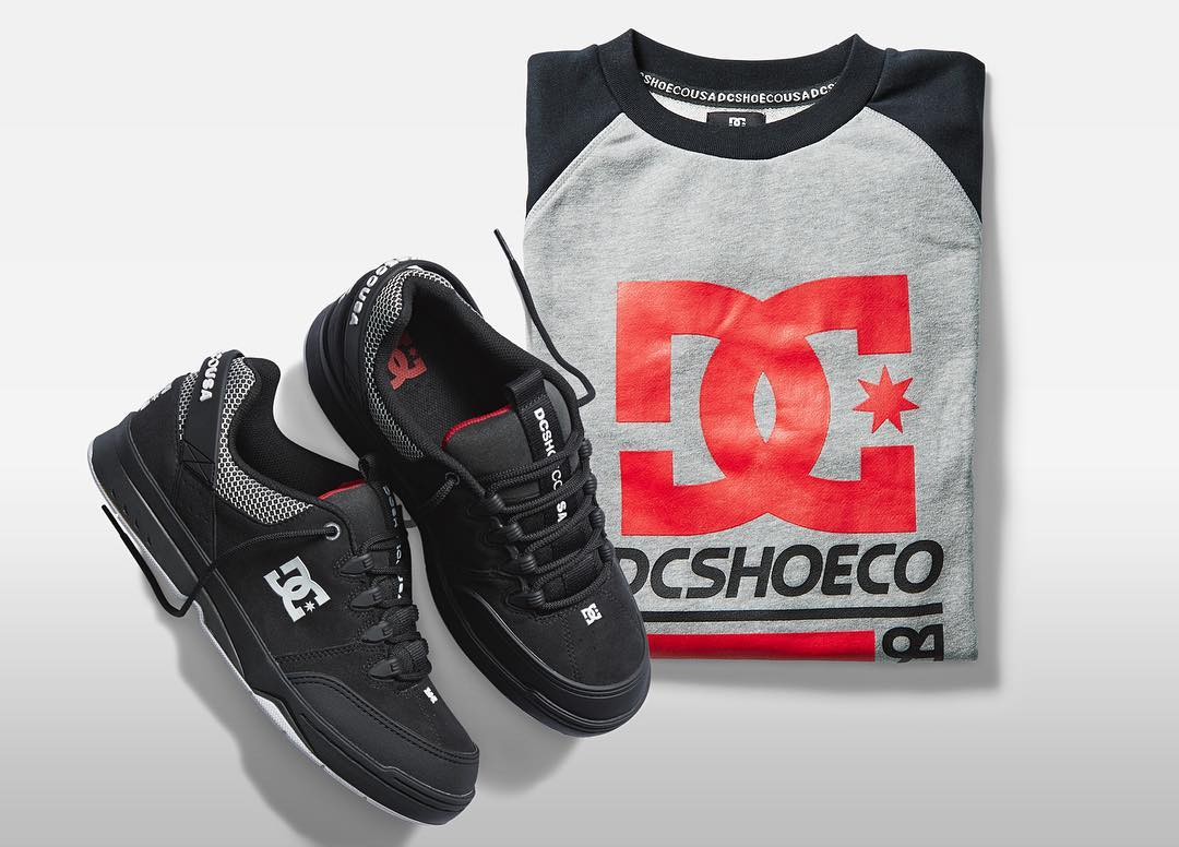 Built on the rich legacy of DC's athletic skate heritage, the '94 Collection features classic bold colors, styles, and graphics. Check it out --> dcshoes.com/1994collection. #dcshoes