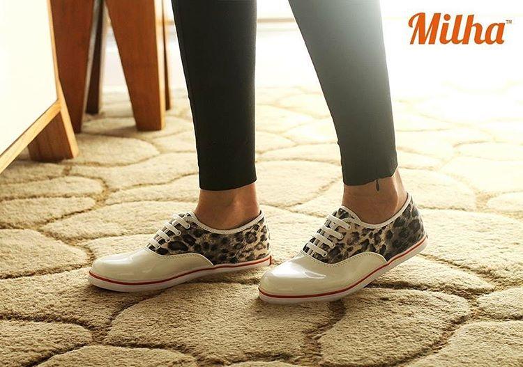 Innovamos en el calzado informal, somos una marca de moda. www.milha.com.ar