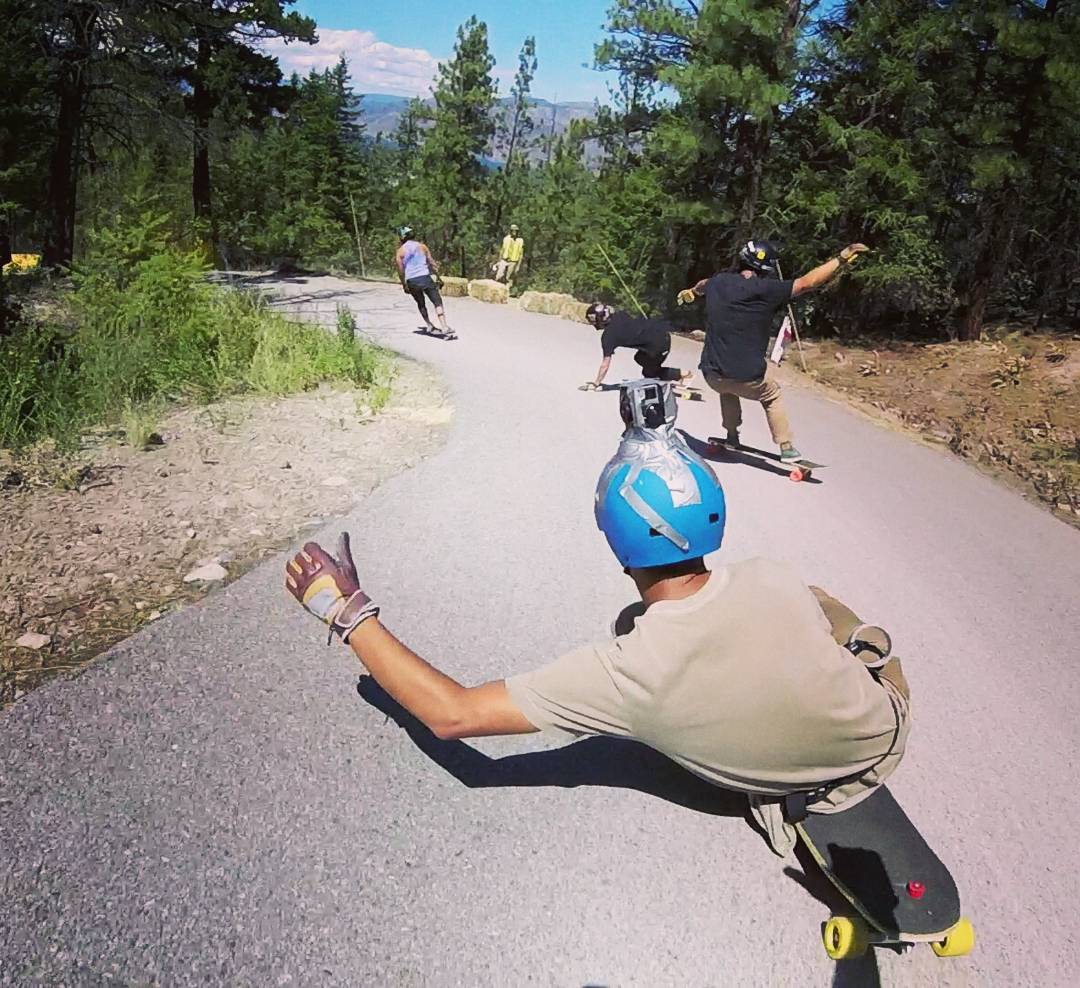 Wow!!! We have been slammed with non-stop family packed downhill and freeride runs the past few days that we forgot the internet exists!  After 3 full days of endless centipedes of skaters from all over the world charging down the same narrow piece of...