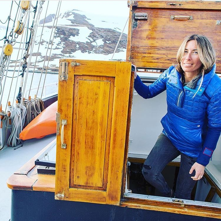 Happy Birthday to our rad friend and ambassador @tahomajillian; here she hangs out in a #sailboat in #Iceland to scope ski lines. Keep on rocking it lady! • • •  Jillian has been with us from the start, giving feedback, opinions, and ideas that have...