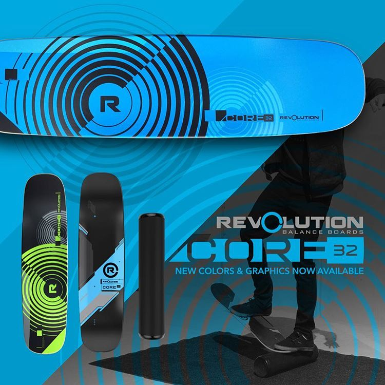 New designs for our Core 32 balance board are available now!! Which one is your favorite?