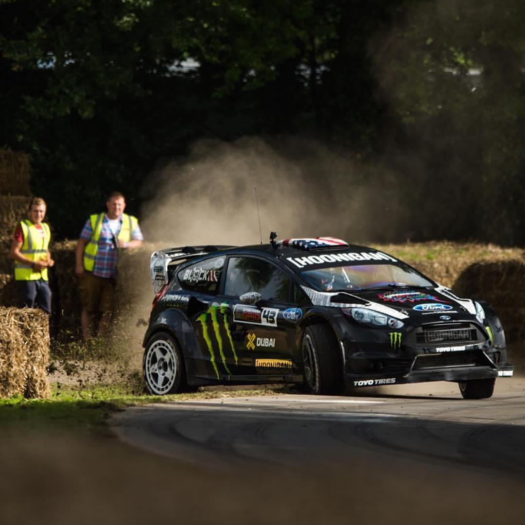 HHIC @kblock43 takes a different approach on landscaping! Rad to watch him pilot the RX43 last weekend at #goodwoodFOS!