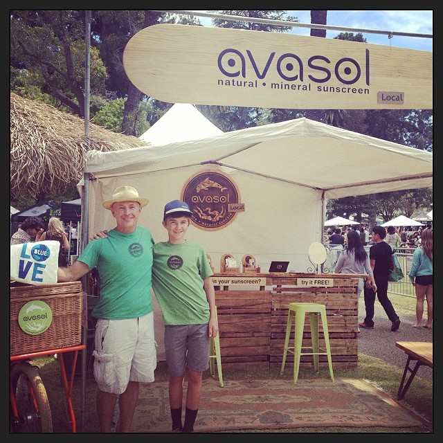 Avasol - natural mineral sunscreen. Our newest member! Welcome to the team! #plasticfree #sbearthday #betterworld