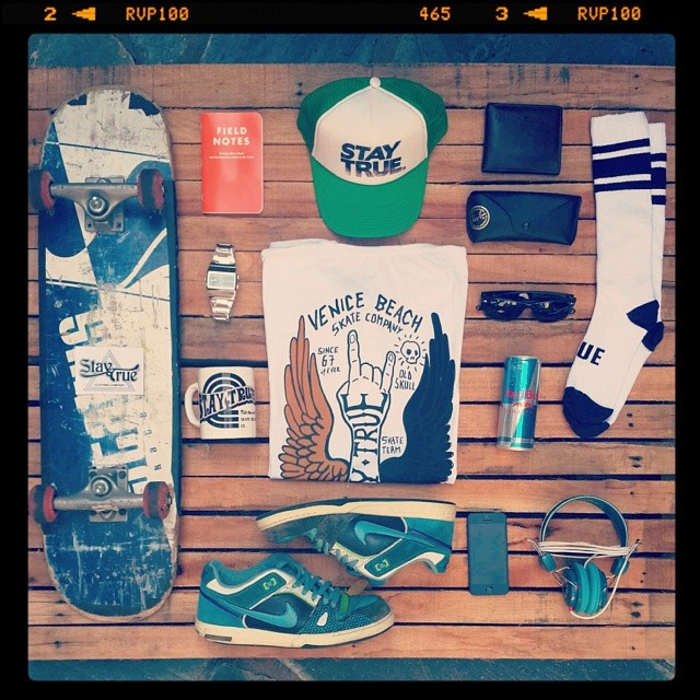 Stay True life kit #stakebordessentials #goodlife #clothing # skate #oldshcool