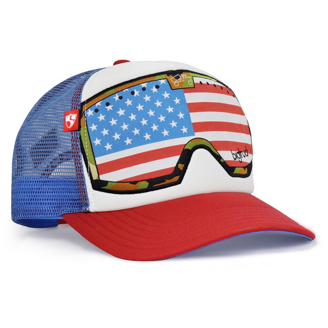WEST & EAST COAST SUPPORTERS! Limited Edition 4th of July Hats just in time for the weekend! Link in bio. #thishathelpedanathlete