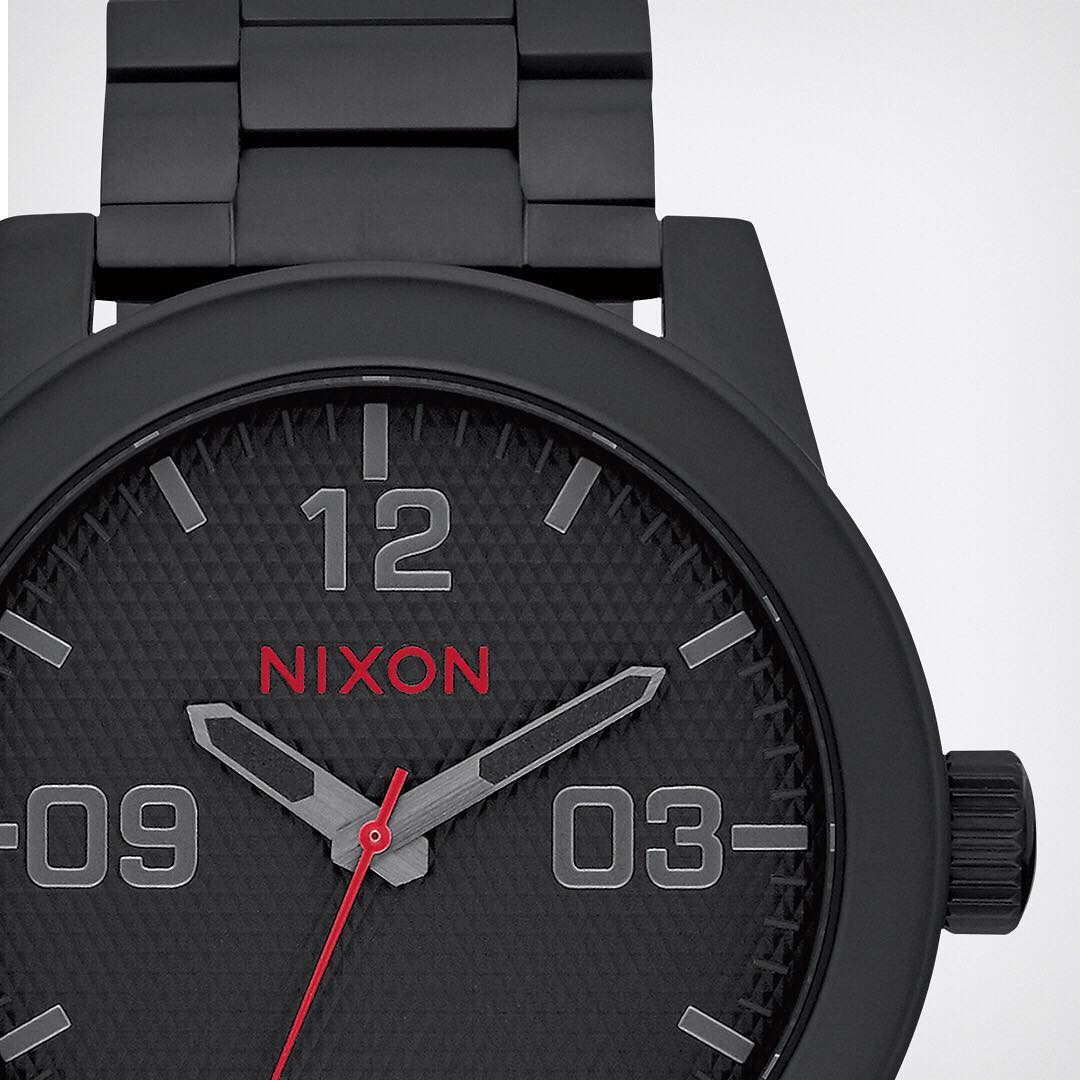 Red hot. The #Infrared collection keeps the details front and center. Right where they should be. #Nixon