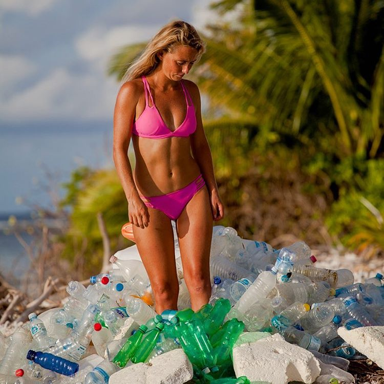 Believe in paradise again! Odina bikinis and active wear are made from recycled plastic bottles and recycled fishing nets! Support ECO ♻️