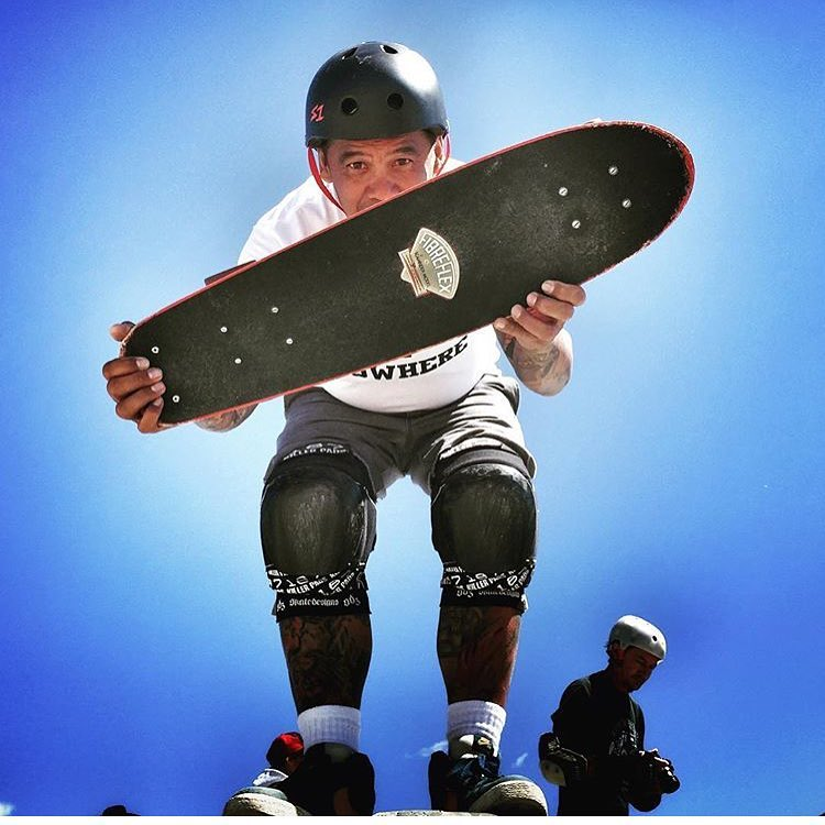 Rad shot of @pine_design rockin his S1 Lifer Helmet ! #s1lifer #s1helmets #trustedbythepros #skate4life