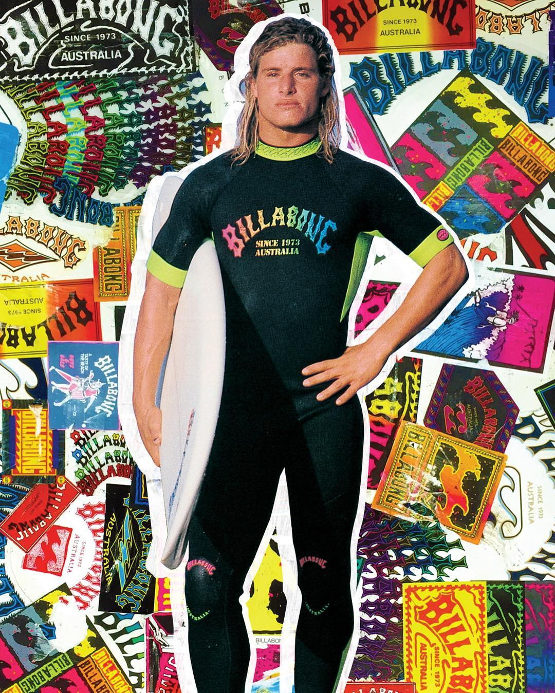 Throwback Thursday/ Flashback Friday to @markocchilupo embracing the Re-Issue. Check out our whole Re-Issue Collection at Billabong.com.