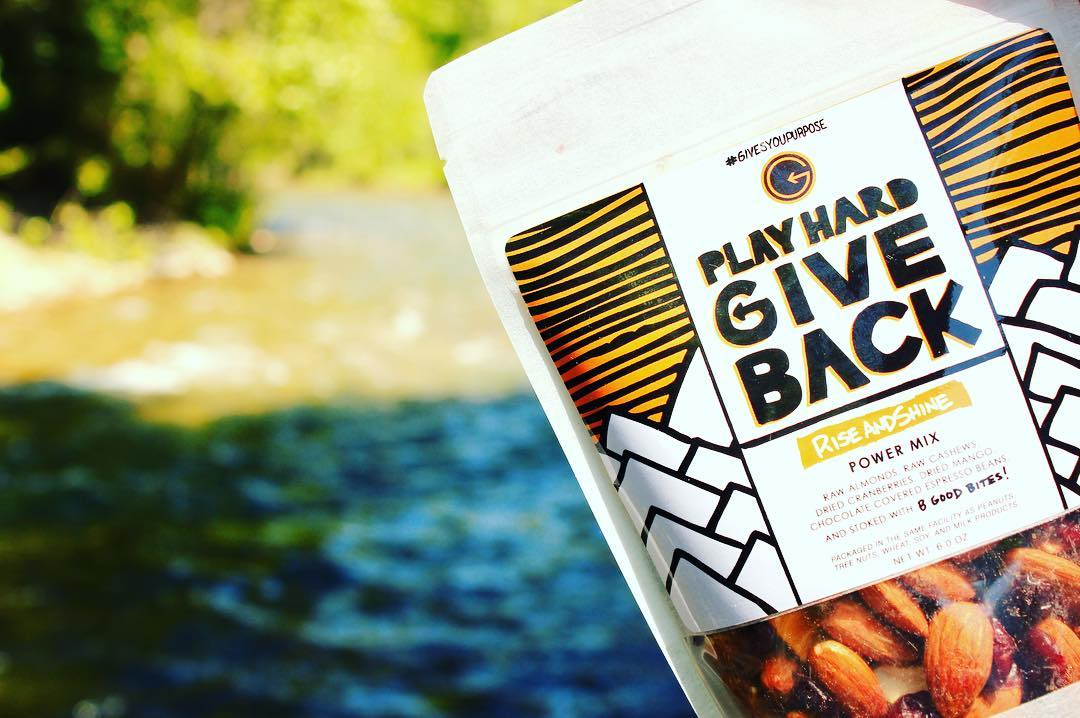 Go find yourself a bag of #phgb trail mix and set up by the river.  It's getting hot out there!  #4thofjulyweekend