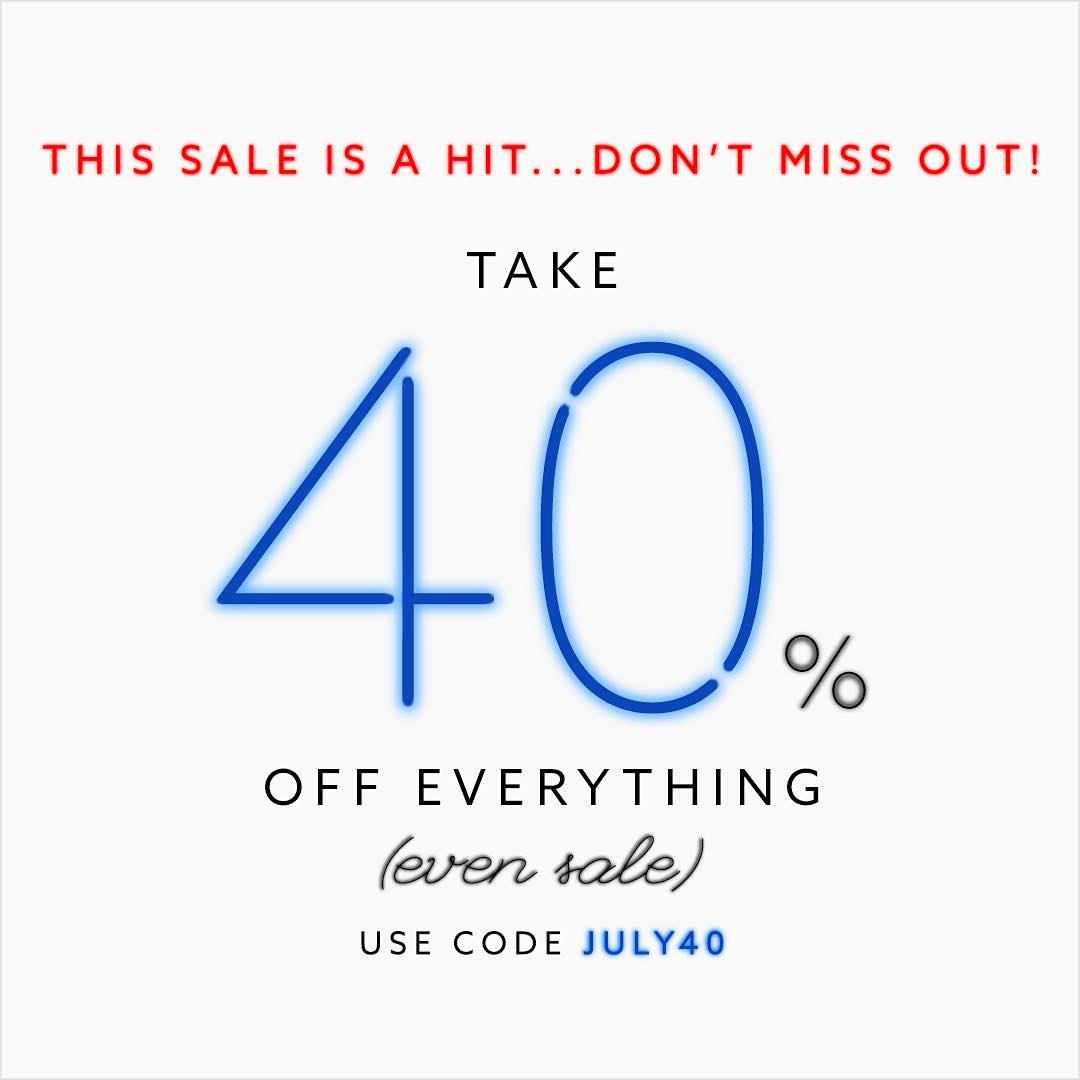 Don't miss out! Shop our awesome sale!