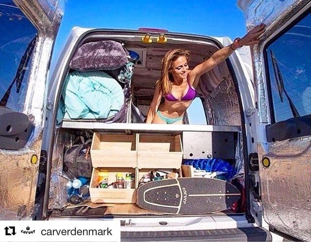 #Repost @carverdenmark (via @repostapp) ・・・ #carverdenmark#carver#carverskateboards#carverskate#carvergirl#vanlife#follovme#instagood