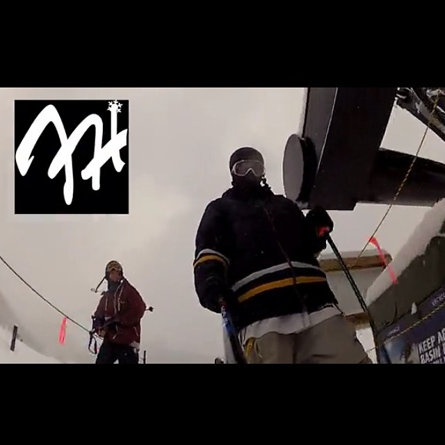 Check out @al_nolan and @castlejason's most recent edit through the link in my bio! @BuildAuthentic #ActionSports Gallery❄️#frostyheadwear #freestyle #skiing