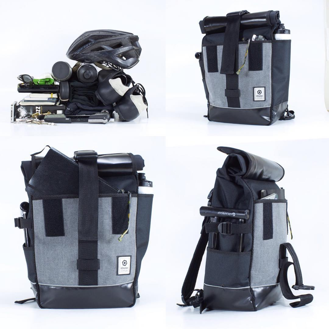 Cuántos elementos necesitas para tu día? Llevalos todos en un solo accesorio. NUEVA mochila y alforja INDEPENDENCIA.