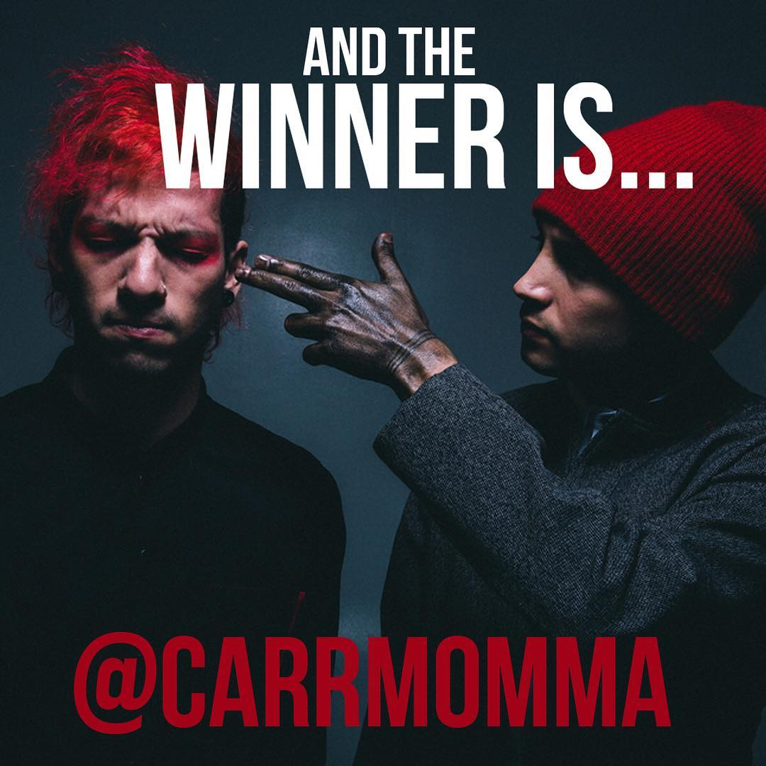 @carrmomma thank you for playing!  Your tickets are waiting for you at our offices! • • #freetickets #21pilots #spratx #contest