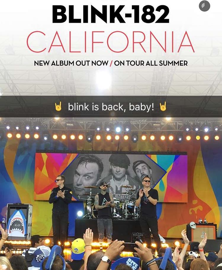 @blink182's new album 'California' is on sale now at blink182.com!