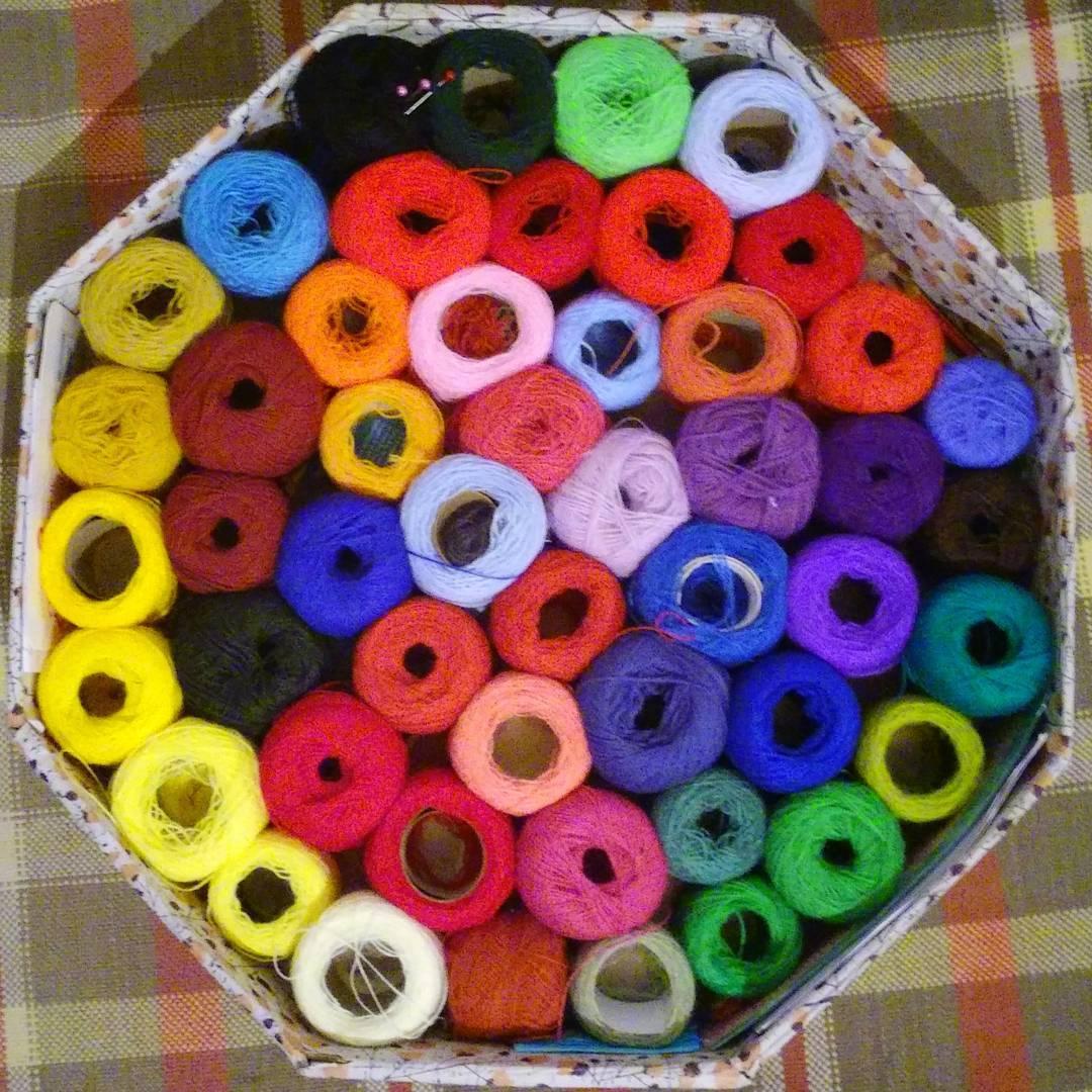 La magia del color, cualquiera sea su expresion. #sinfiltro #ph #colores #colours #colors #hilos