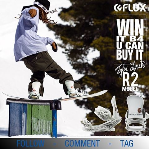 WIN IT BEFORE YOU CAN BUY IT! Flux Bindings is giving away this set of 2016/17 GBP @gbpgremlinz Tyler Lynch @sababa_life Bindings before you can buy them! To Enter: Go to @fluxbindings and FOLLOW our gram feed, make a COMMENT on our WIN FLUX post and...