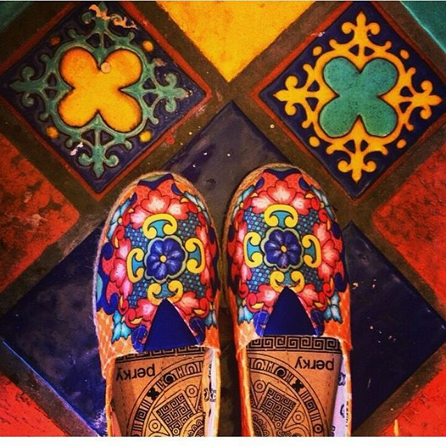 Perky un paso adelante #mosaicos #summer15 #shoes #readytowear #lightbluejourney